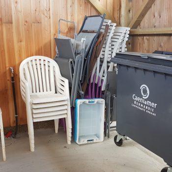 On a hâte de sortir les chaises de jardin